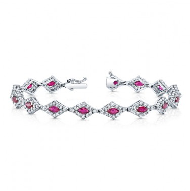 Diamond Ruby Bracelet